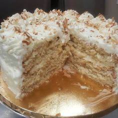 The Very Best Coconut Cake - Happy Cooking Cooking On The Grill, Cooking Time, Cooking Recipes, Cake Recipes, Dessert Recipes, Desserts, Appetizer Recipes, Sweet Recipes, Soup Recipes