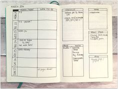 Starting a Bullet Journal // Weekly Spread