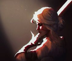 Ciri Witcher, The Witcher Game, The Witcher Books, Witcher Art, Witcher 3 Wild Hunt, The Minpins, Red Knight, Anime Ninja, Green Animals