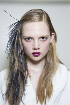 3 Hair and Makeup Trend Ideas to Steal from Spring 2014 New York Fashion Week
