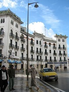 "Tetouan, Morocco antiguos juzgados en la plaza de españa o ""del Primo"" (de Rivera) Places Around The World, Travel Around The World, Around The Worlds, Fun Places To Go, Places To Travel, Medina Morocco, Portugal, Countries To Visit, Morocco Travel"