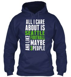 I just ordered this. Cracks me up!! I Care About Seattle FB LIMITED!