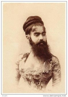 CPM - Femme a Barbe - Portrait of Annie Jones Eliot (1890)