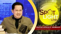 Watch another episode of Pastor Apollo C. Quiboloy's newest program, SPOTLIGHT. For your messages and queries, you can comment it down below so our Beloved P. Kingdom Of Heaven, T Lights, New Program, January 10, Son Of God, Lessons Learned, Apollo, Spotlight, Worship