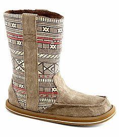 Sanuk Womens Wanderer Boots #Dillards