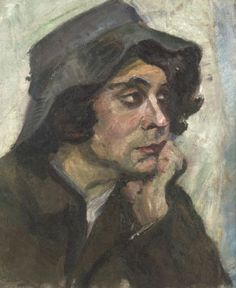 Menino napolitano, de Anita Malfatti,  c. 1912 /1913 [Coleção Orandi Momesso]