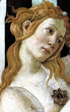 Detail of Primavera by Sandro Botticelli (1482) #DiscoverArt - #Art #LoveArt…