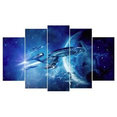 Star Trek Space Poster