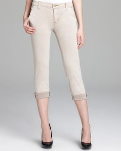 Hudson Jeans - Jamie Slim Chino in Putty | Bloomingdales #LETYOURSELFGO #LETYOURSELFGO