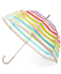 kate spade new york Candy Striped Umbrella