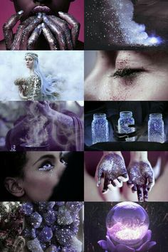 Lilac witch // more here // aesthetics