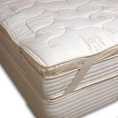 Natural Foam Latex Rubber Pillowtop.