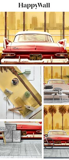Plymouth Savoy wall mural from Happywall #happywall #wallmural #cars #wallpaper #wallmurals #wallpapers