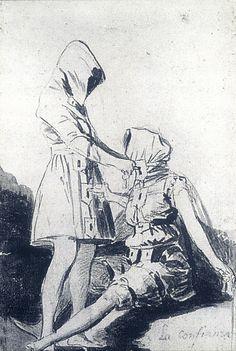"""lacarton.com.es """"La Confidence"""" - Goya, 1797-98"""