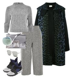 """""""Airport Look with Kendall Jenner"""" by sofia-608 ❤ liked on Polyvore featuring Circus Hotel, River Island, Proenza Schouler, Kendall + Kylie and Adrienne Landau"""