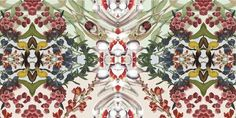 "Fabric design by Natalia Grzybowski for her ""Hybrid"" collection"
