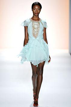 Jenny Packham, Весна-лето 2012, Ready-To-Wear, Нью-Йорк