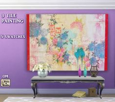 Sims 4 CC's - The Best: Mirrors and Paintings by OrangeMittens