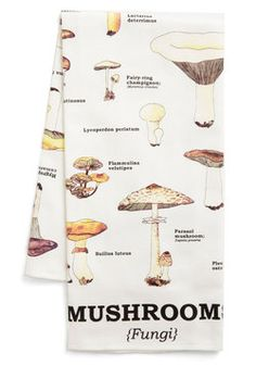 birthday present? - Toadstool for School Tea Towel, #ModCloth