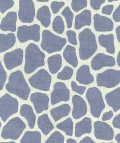 KWID giraffe print in thistle/ivory, $50 a yd