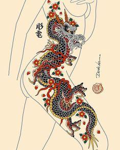 Brazzers British cop Elicia Solis entraps some big cock Dragon Tattoo Leg, Dragon Tattoo Sketch, Dragon Tattoo Designs, Snake Tattoo, Tattoo Sketches, Red Ink Tattoos, Anime Tattoos, Cute Tattoos, Beautiful Tattoos
