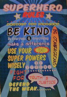 SUPERHERO Rules!