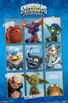Who's your favorite Skylander? Mine are Spyro, Cynder, and Pop Fizz