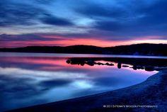 Sunrise on Lake Hopatong