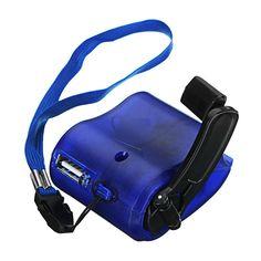 [US$4.46] Usb Hand Crank Power Generator Emergency Digital Display Phone Charger Manual Shake Charger Blue #hand #crank #power #generator #emergency #digital #display #phone #charger #manual #shake #blue