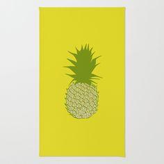 Pineapple Area & Throw Rug