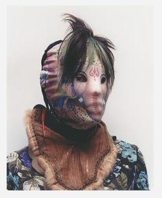 Noki I JJ Hudson x Axel Hoedt  *you could paint your own mask?