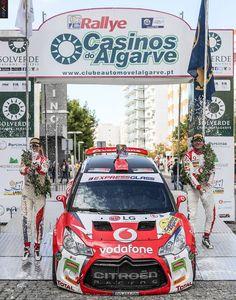 Rallye Casinos do Algarve 2016: Citroen Vodafone Team fecha CNR com 'chave de ouro'