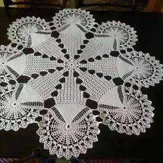 Crochet ideas that you'll love Crochet Dollies, Crochet Stars, Crochet Doily Patterns, Easter Crochet, Crochet Stitches, Unique Crochet, Crochet Round, Crochet Home, Vintage Crochet