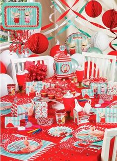 This website is completely devoted to Olivia!  Party supplies, decorations, games, etc. all in one stop
