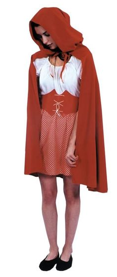 Red Riding Hood Cape Adult