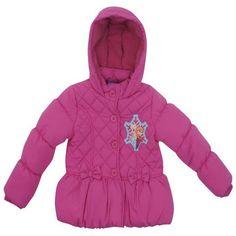 Infant Girls Disney Frozen Pink Quilted Jacket