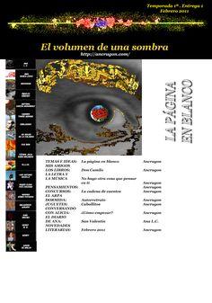 Revista: El volumen de una sombra, nº 1. Temporada 1ª, febrero 2011