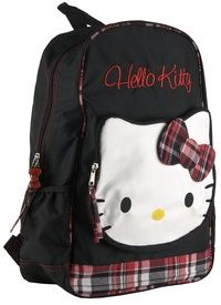f4561ff2d9 Hello Kitty HK Mad For Plaid Backpack (Color black)