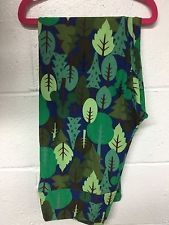 Lularoe Tall and Curvy Leggings  TC Trees Forrest