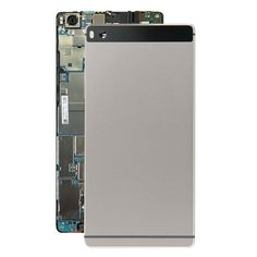 [USD11.35] [EUR10.32] [GBP8.15] iPartsBuy Battery Back Cover Replacement for Huawei P8(Grey)