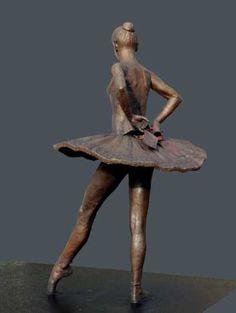 Bronze Dance and Ballet sculpture by artist Sterett-Gittings Kelsey titled: 'Balanchines-Dancer (Bronze Ballet statue)' £317795 #sculpture #art