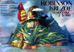 Robinson Crusoe, Polish Movie Poster