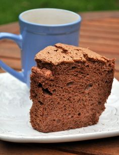 chocolate angel food cake...omg and its not bad for you!