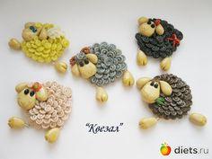 Овечка из запекаемой глины, мастер-класс в картинках!: Полимерная глина и не только))): Группы - diets.ru