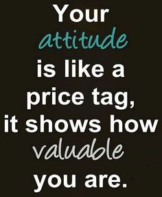 Your price tag