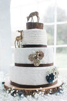 Light & Airy Fall Barn Wedding - Rustic Wedding Chic