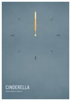 Cinderella | 19 Minimalistic Posters Of Your Favorite Childhood Stories