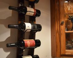 The Great Lakes Wine Rack, 10 day Sale, Was 109 NOW 69, Reclaimed Wood, Rustic…