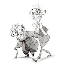 Some older ladies I saw at coffee. ★ || CHARACTER DESIGN REFERENCES (https://www.facebook.com/CharacterDesignReferences & https://www.pinterest.com/characterdesigh) • Love Character Design? Join the #CDChallenge (link→ https://www.facebook.com/groups/CharacterDesignChallenge) Share your unique vision of a theme, promote your art in a community of over 35.000 artists! || ★