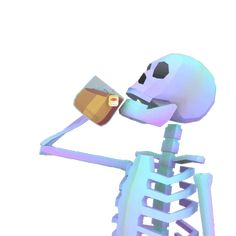 Skeleton Sticker by jjjjjohn for iOS & Android